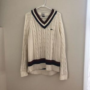 Vintage and totally cool Lacoste sweater!